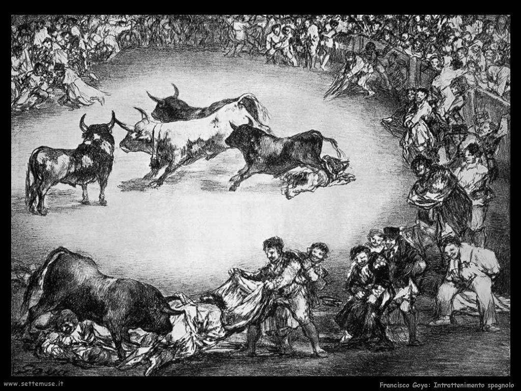 Francisco de Goya intrattenimento spagnolo