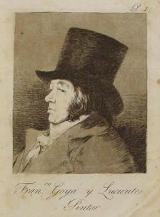Ritratto di Francisco de Goya