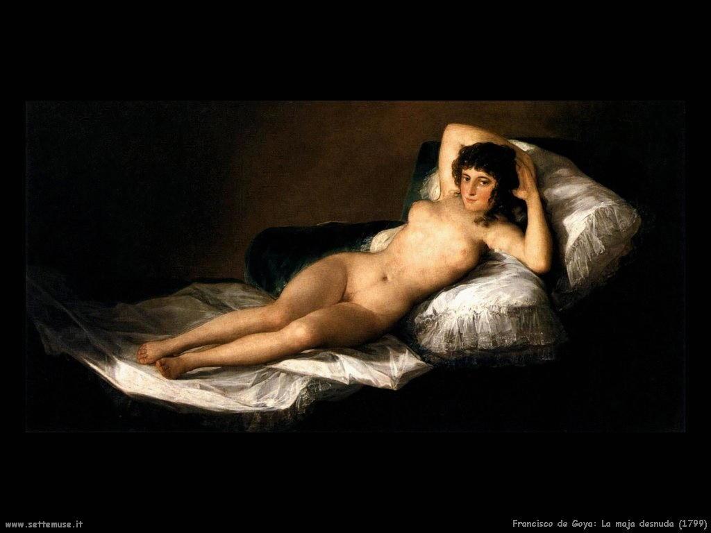 Francisco de Goya opere di personaggi e religione