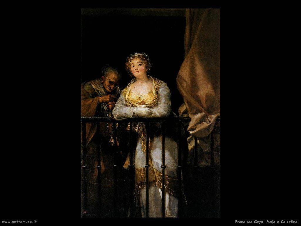 Francisco de Goya maja e celestina