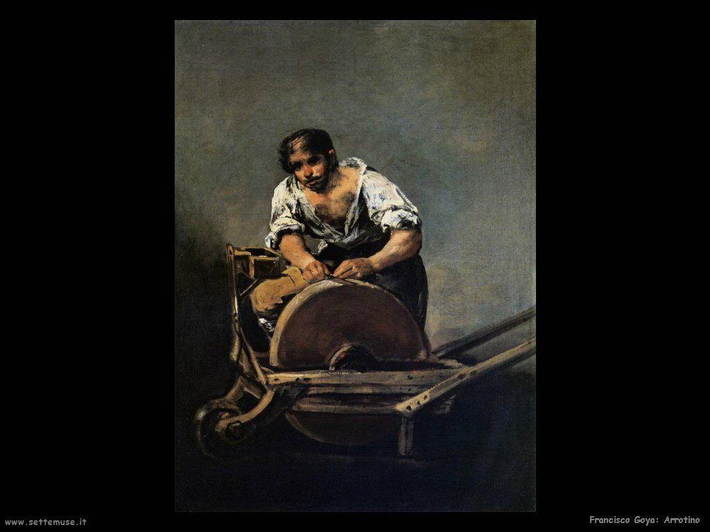 Francisco de Goya arrotino
