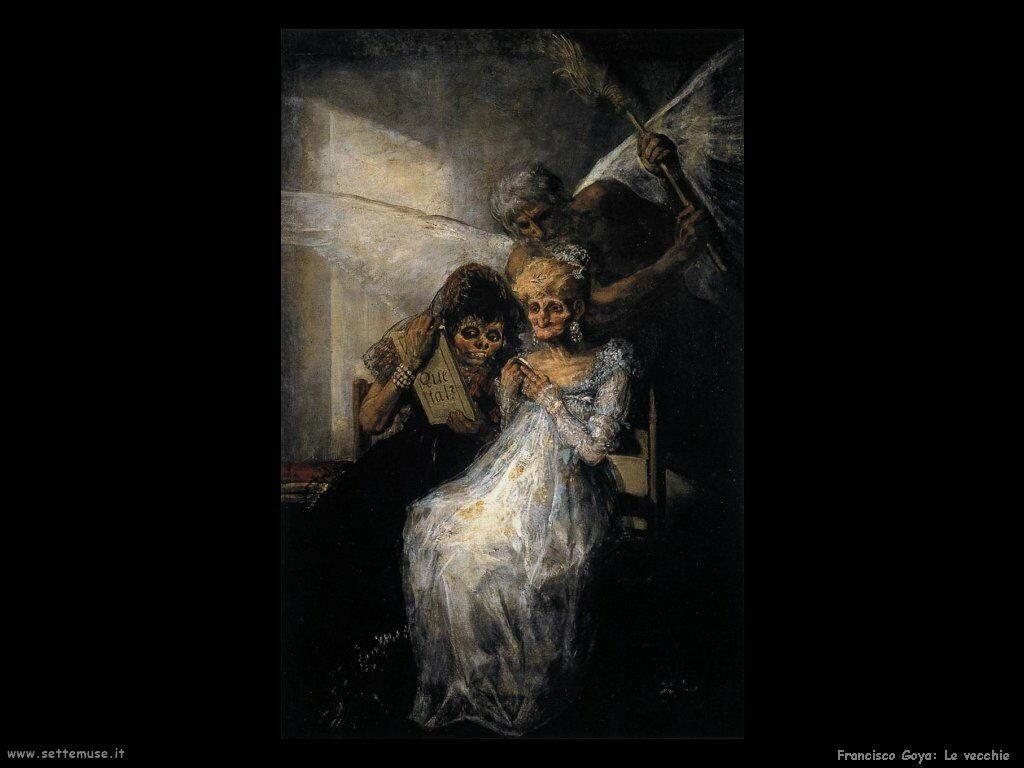Francisco de Goya le vecchie