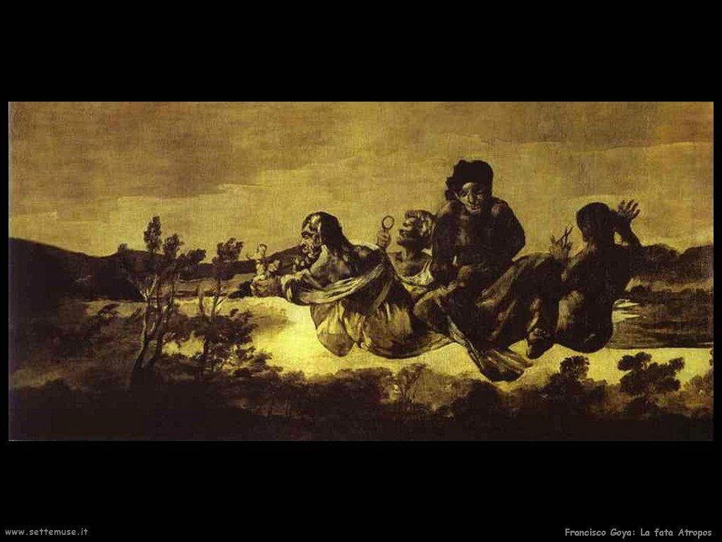 Francisco de Goya la fata atropos