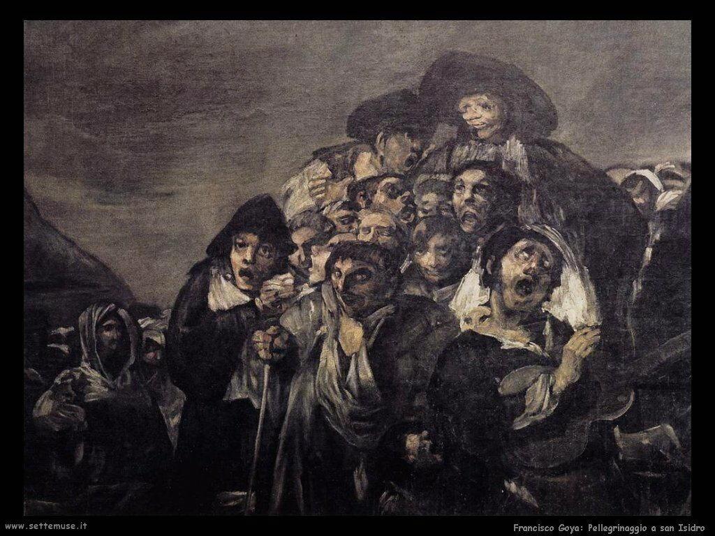 Francisco de Goya pellegrinaggio a san isidro