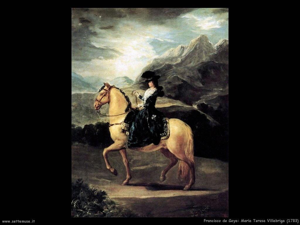 Francisco de Goya maria teresa villabriga 1783