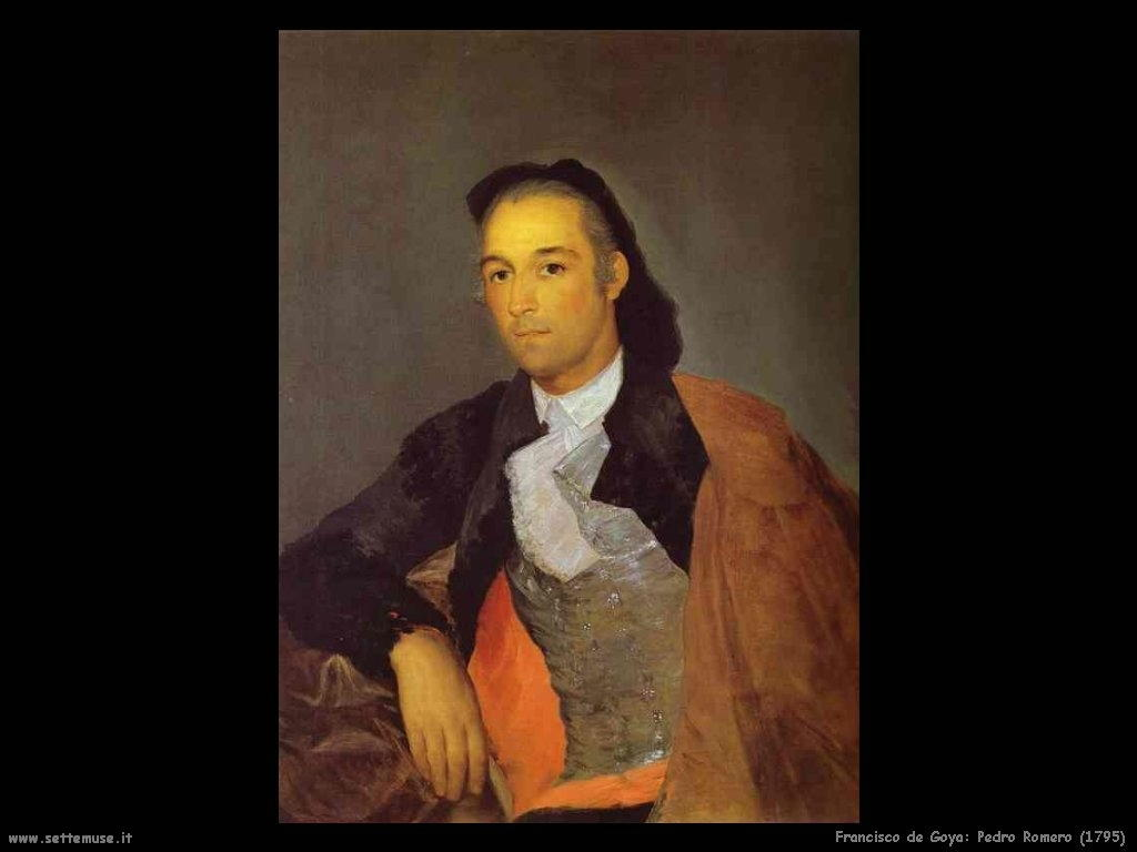 Francisco de Goya pedro romero 1795