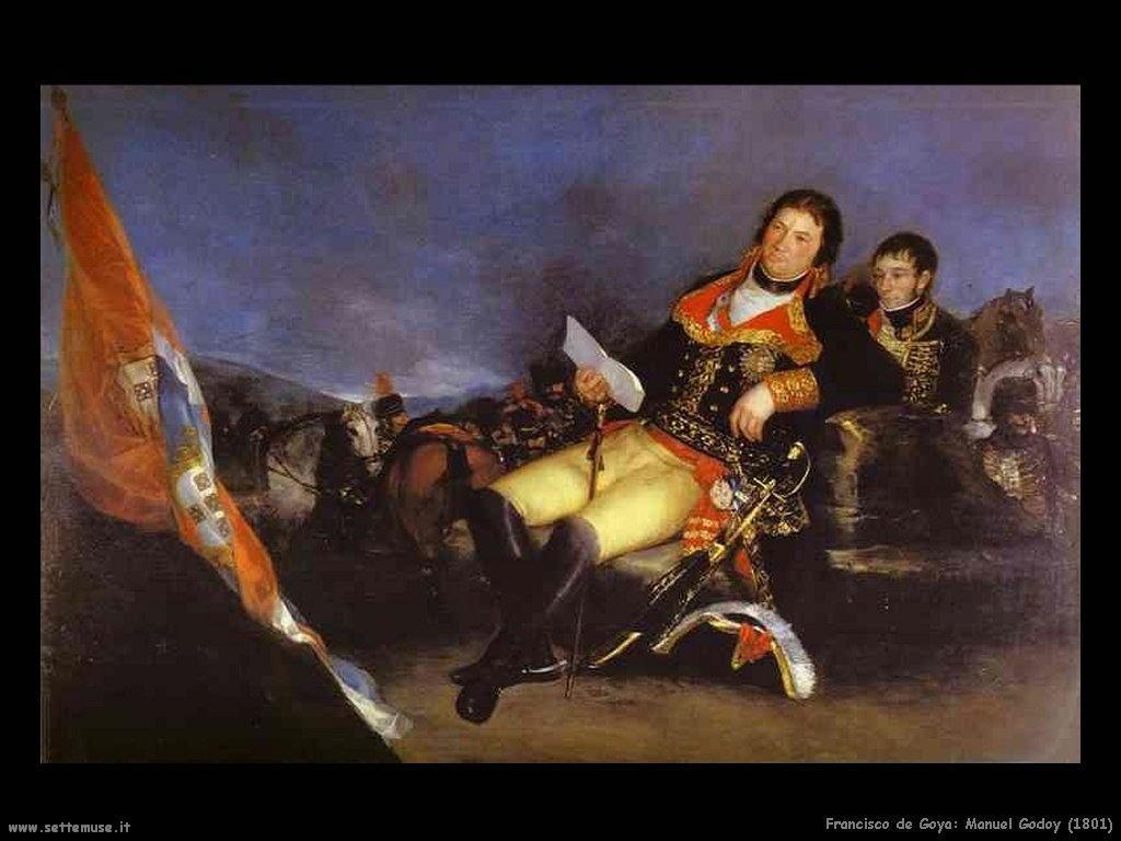 Francisco de Goya manuel godoy 1801