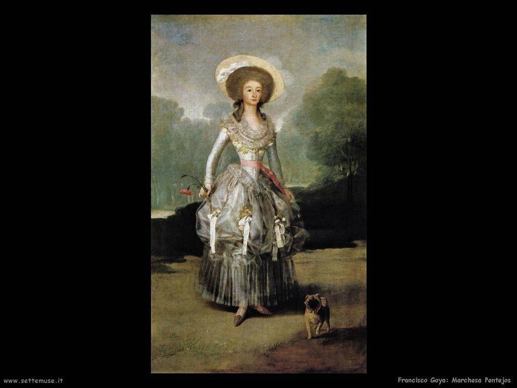 Francisco de Goya marchesa pontejos