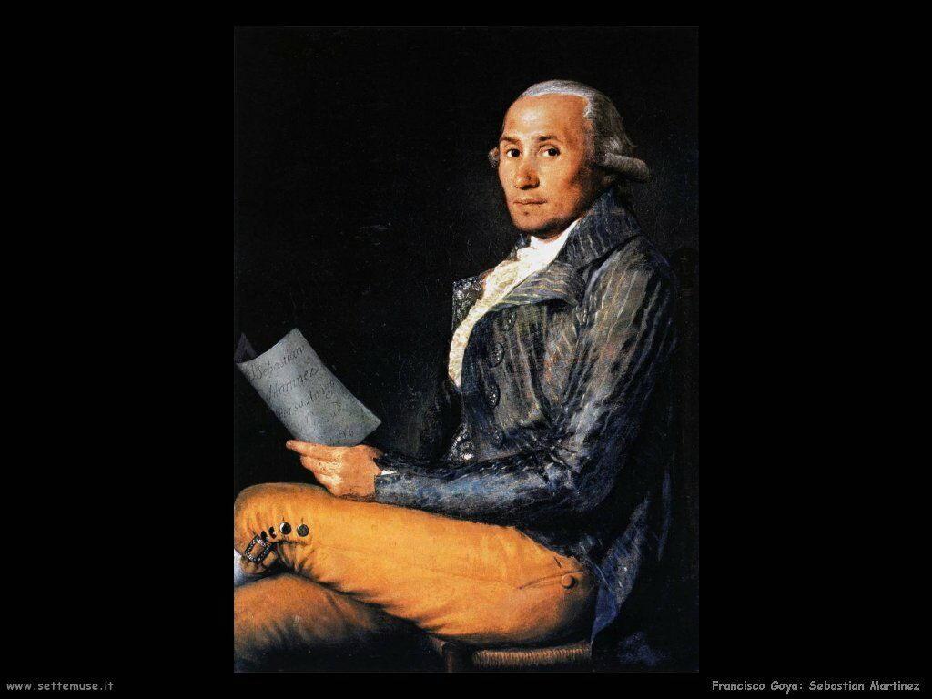 Francisco de Goya sebastian martinez