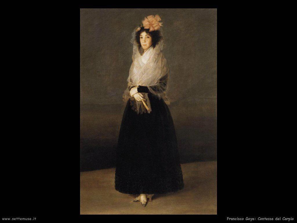Francisco de Goya contessa del carpio