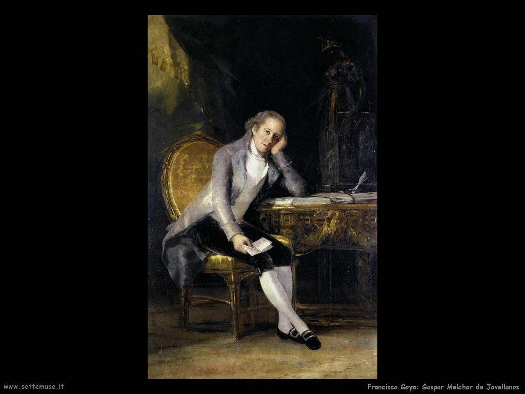 Francisco de Goya gaspar melchor de jovellanos