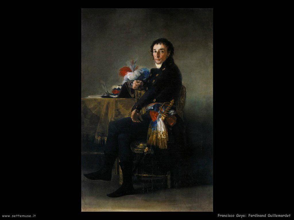 Francisco de Goya ferdinand guillemardet