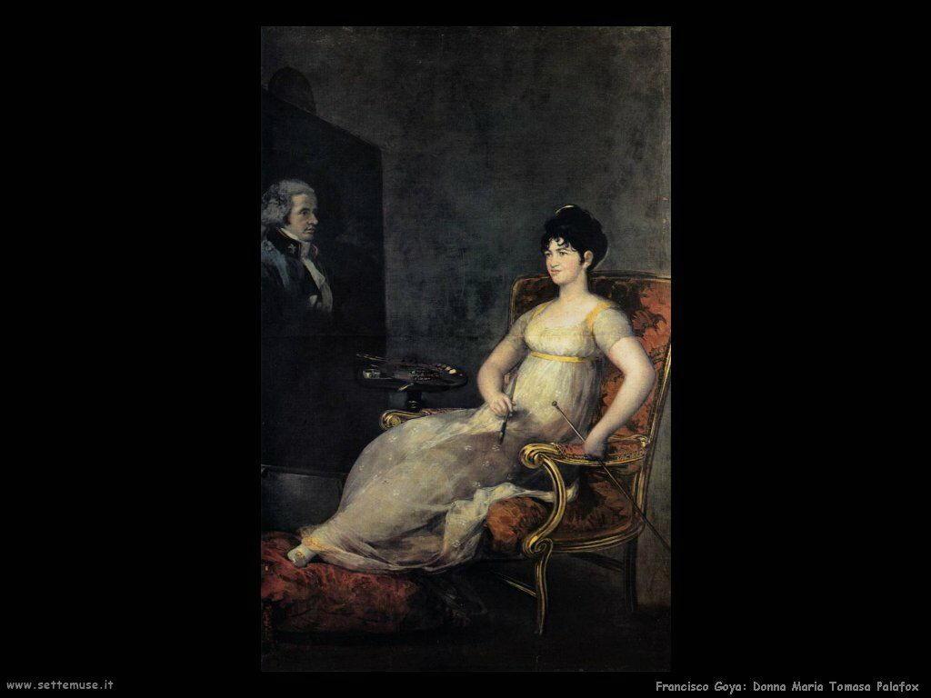 Francisco de Goya donna maria tomasa palafox marchesa