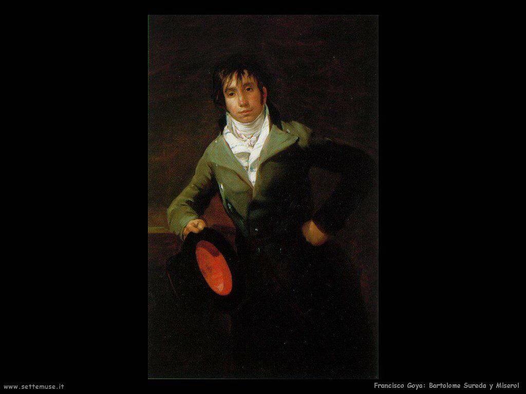 Francisco de Goya bartolome sureda y miserol