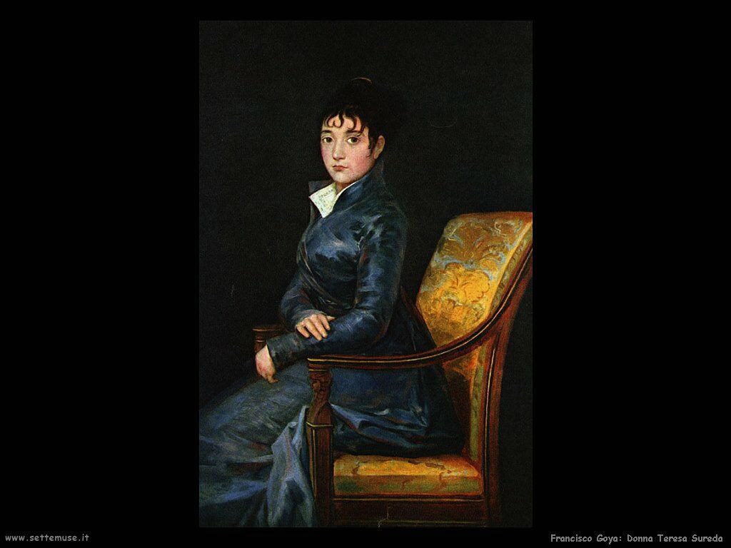 Francisco de Goya donna teresa sureda