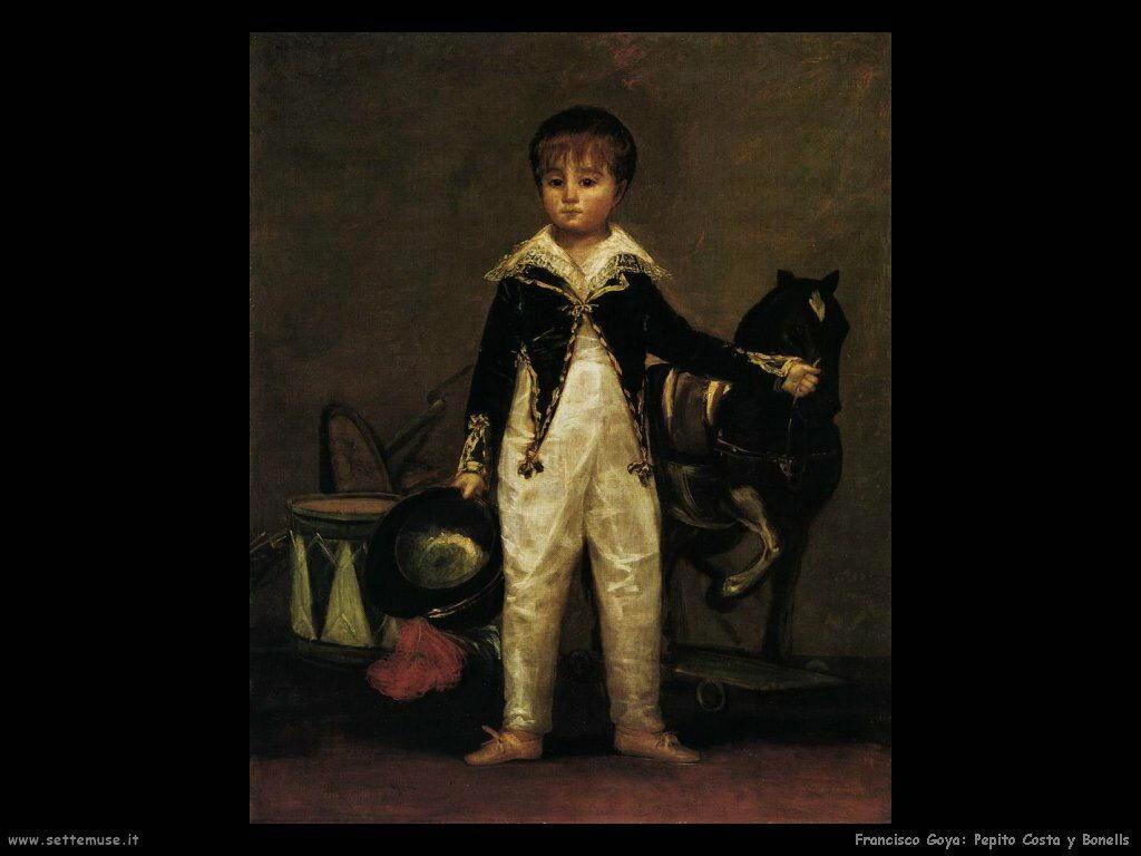 Francisco de Goya pepito costa y bonells