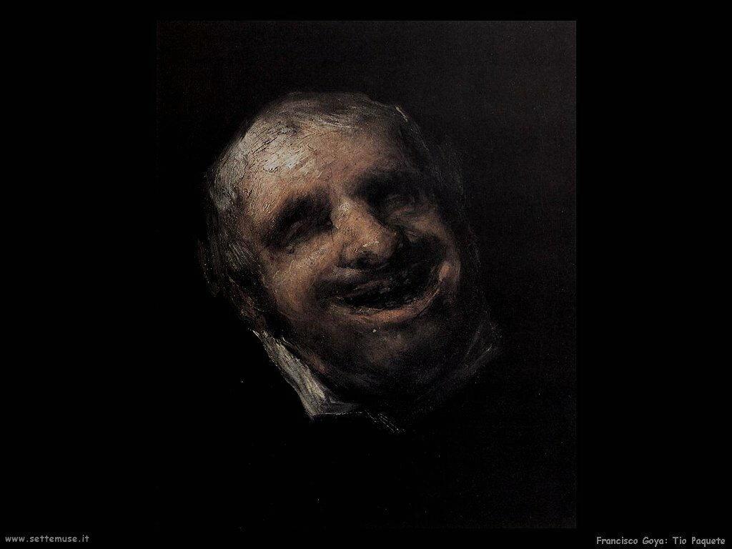Francisco de Goya tio paquete