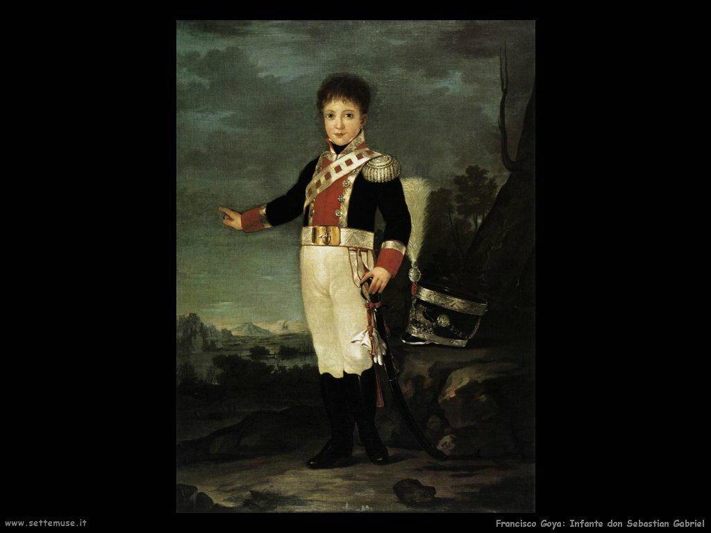 Francisco de Goya infante don sebastiano gabriel