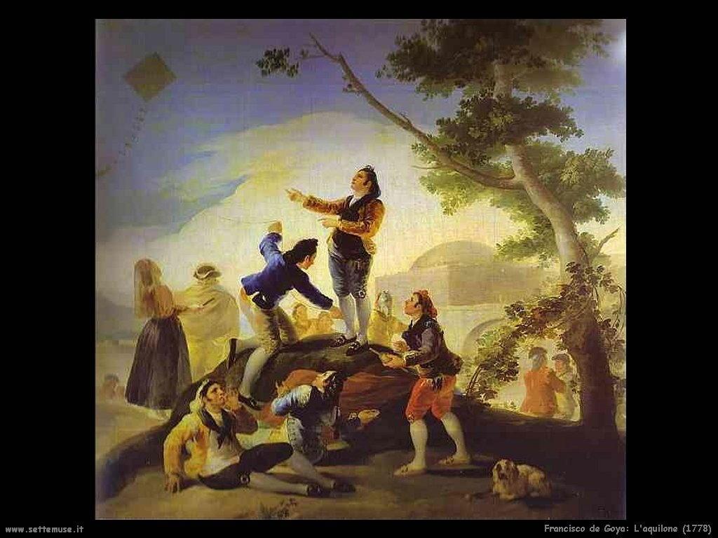 Francisco de Goya aquilone 1778