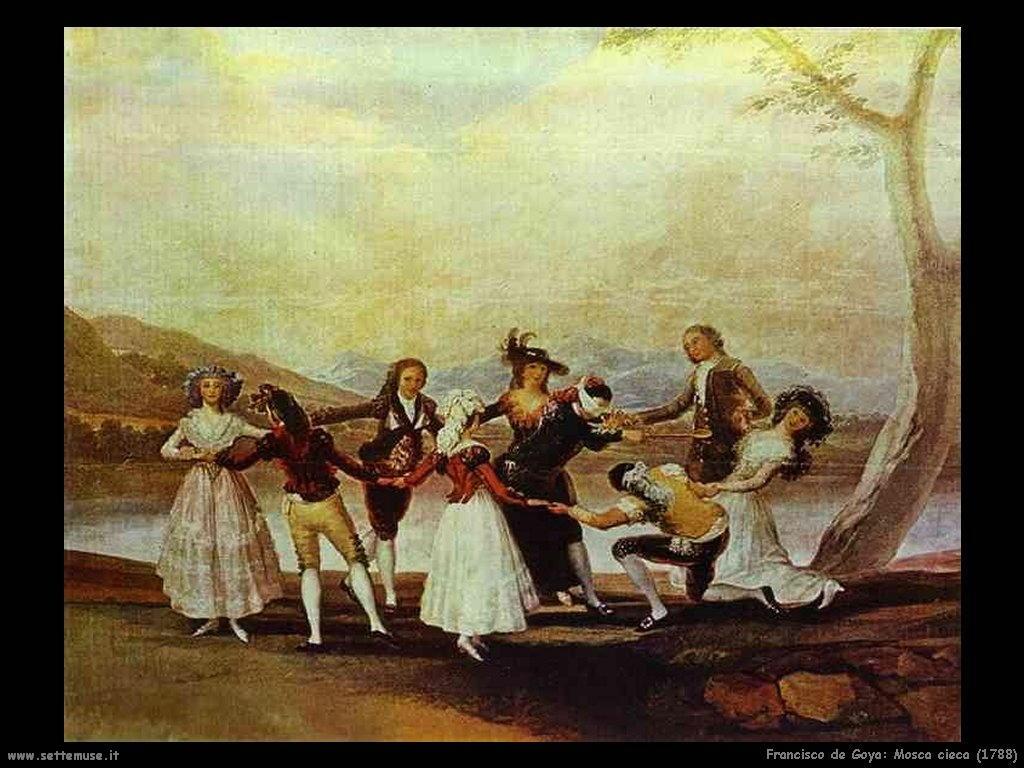 Francisco de Goya mosca cieca 1788