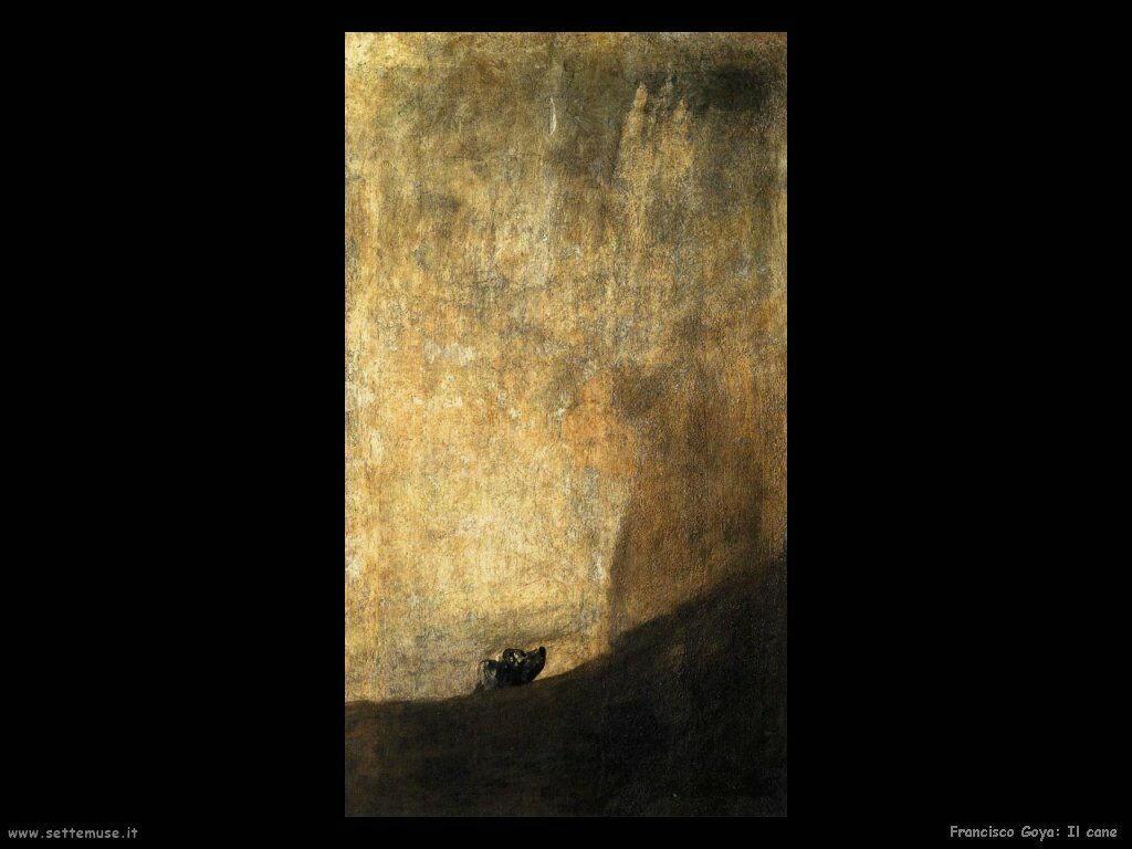 Francisco de Goya il cane