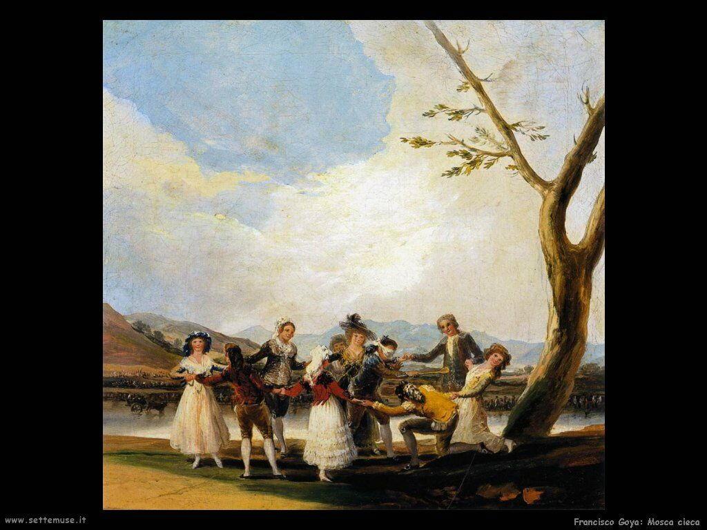 Francisco de Goya mosca cieca