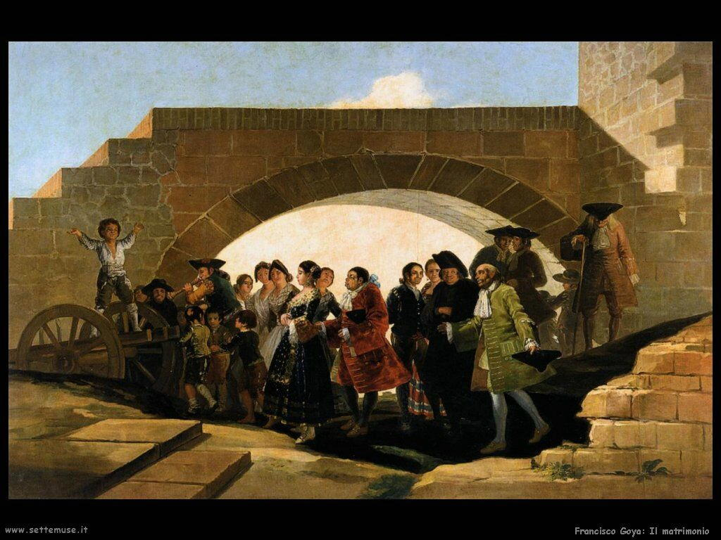 Francisco de Goya matrimonio