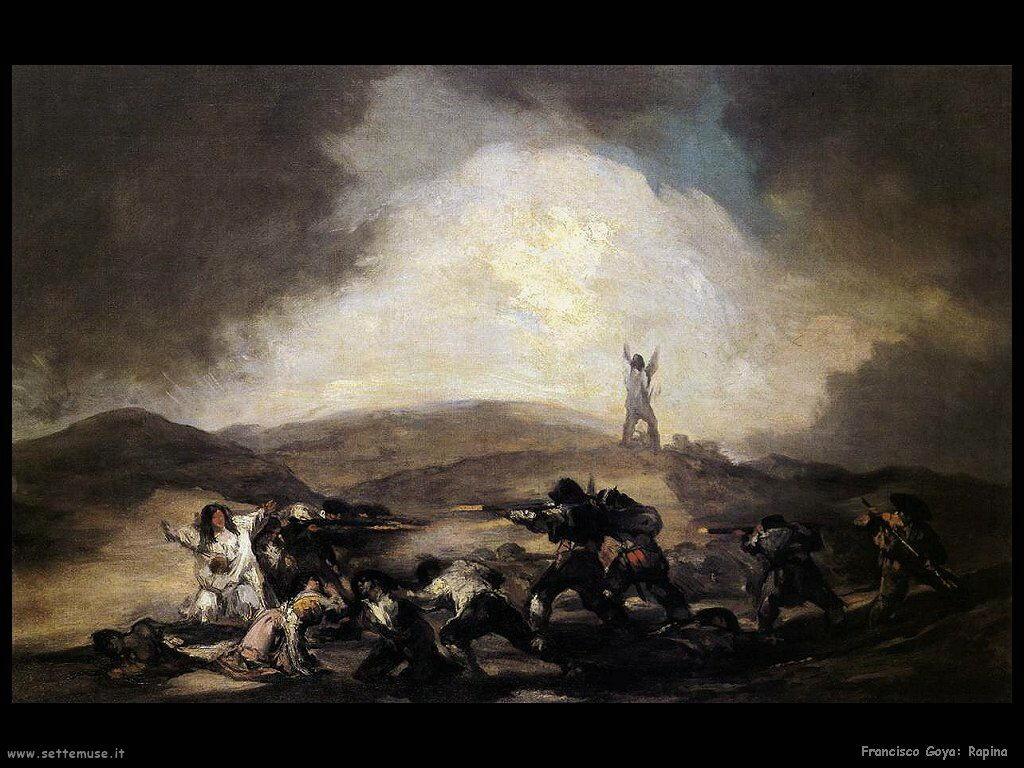 Francisco de Goya rapina