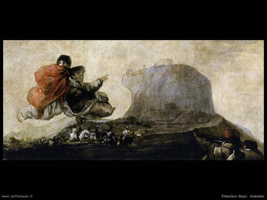 Francisco de Goya asmodea
