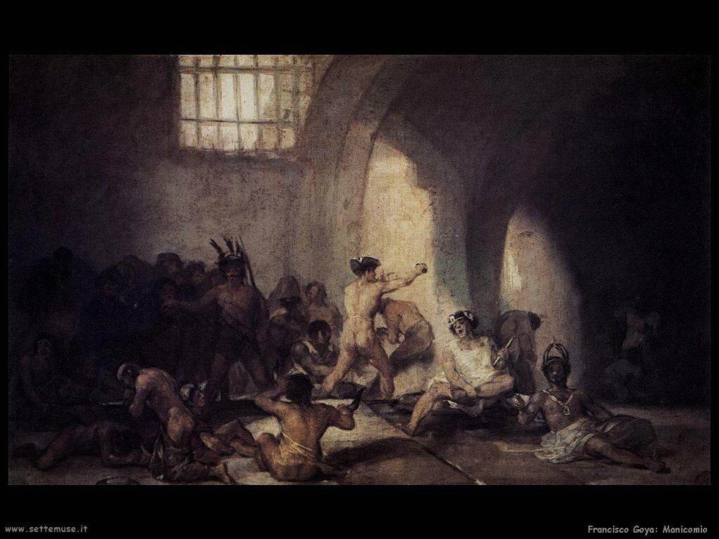 Francisco de Goya manicomio