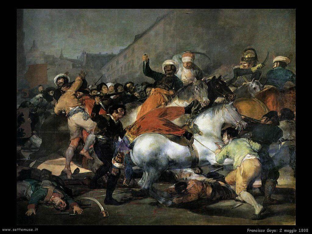 Francisco de Goya 2 di maggio 1808