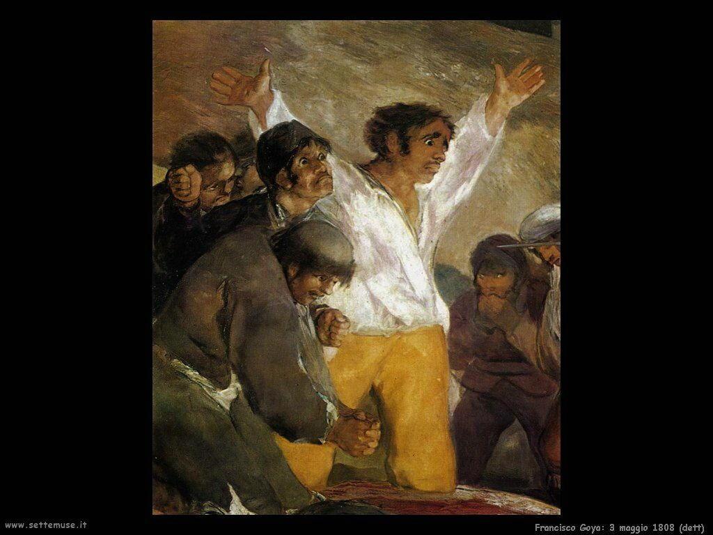 Francisco de Goya 3 di maggio 1808