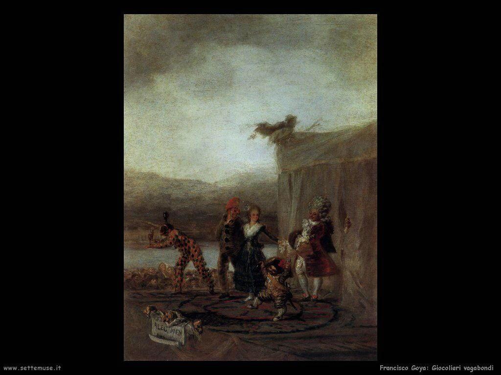 Francisco de Goya giocolieri vagabondi