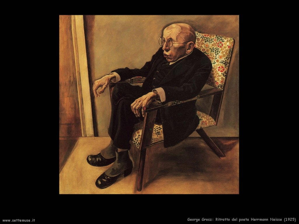 george_grosz_002_il_poeta_Max_Herrmann_Neisse_1925