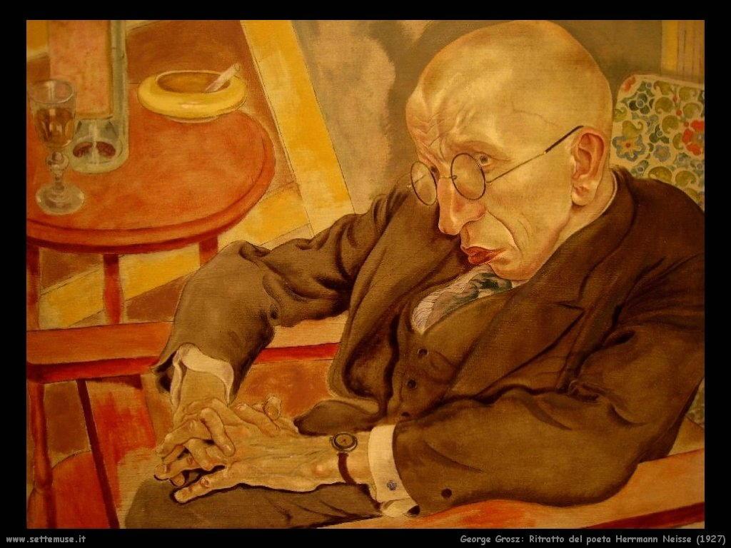 george_grosz_003_il_poeta_Max_Herrmann_Neisse_1927