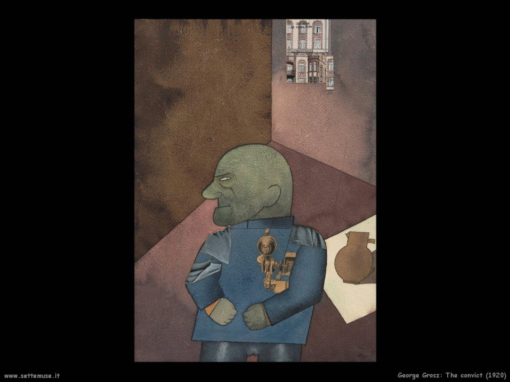 george_grosz_018_The Convict_1920