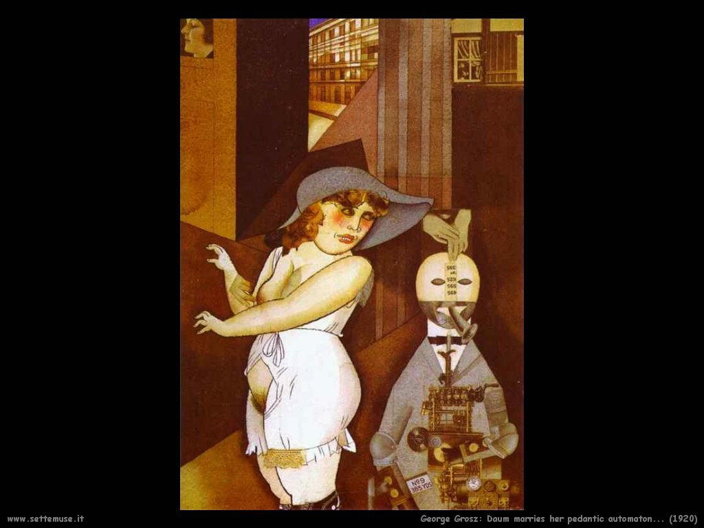 george_grosz_039_daum_marries_her_pedantic_automaton_1920