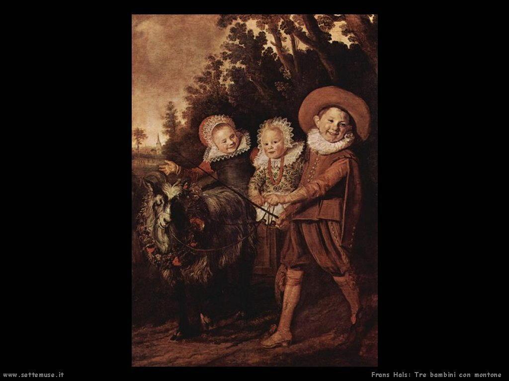 frans_hals_tre_bambini_con_montone