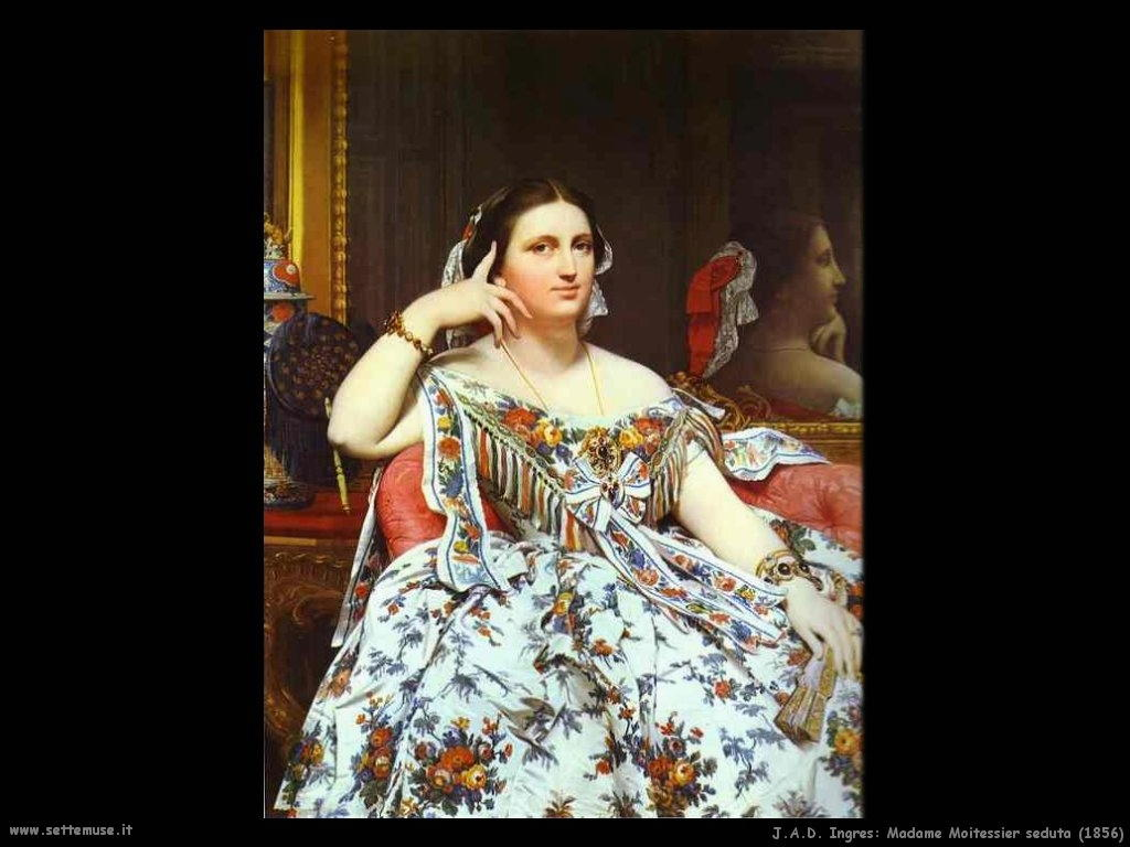 Bagno Turco Ingres : Jean august ingres pittore altre opere settemuse