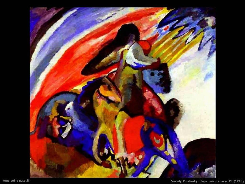 vassily kandinsky improvvisazione_12_1910