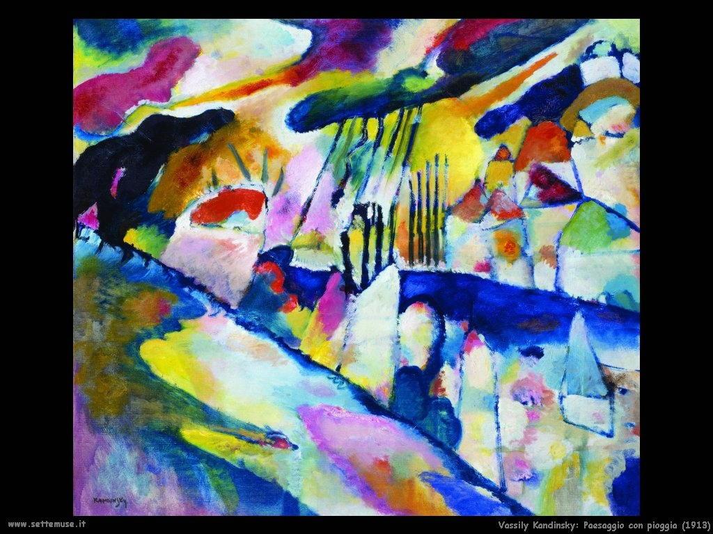 vassily_kandinsky_paesaggio_con_pioggia_1913