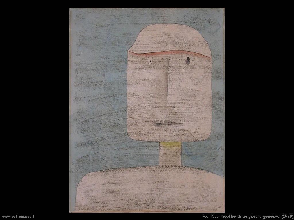 paul_klee_spettro_di_guerriero_1930
