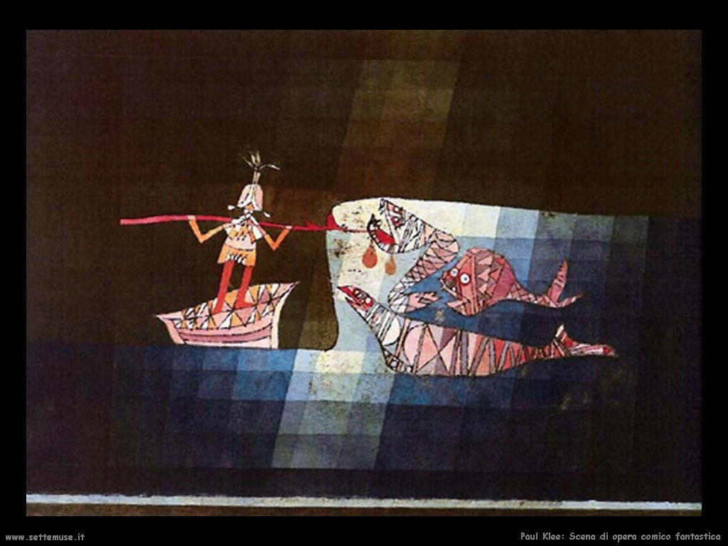 Paul Klee Pittore Opere Quadri