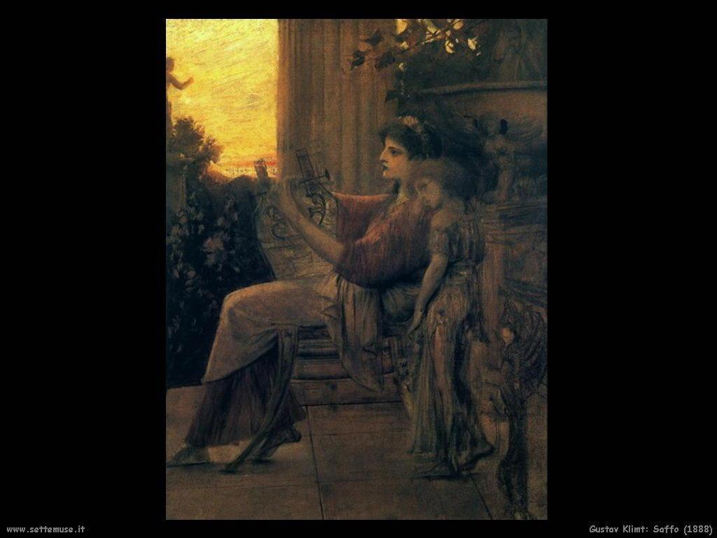 Klimt 1888_saffo