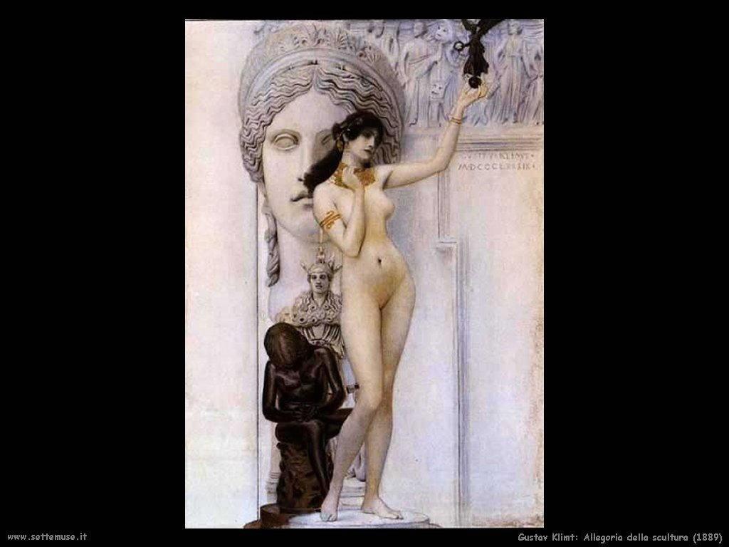 Klimt 1889_allegoria_della_scultura