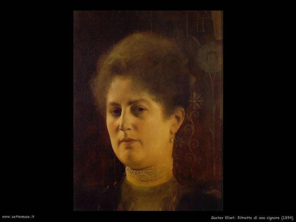 Klimt 1894_portrait_of_a_lady