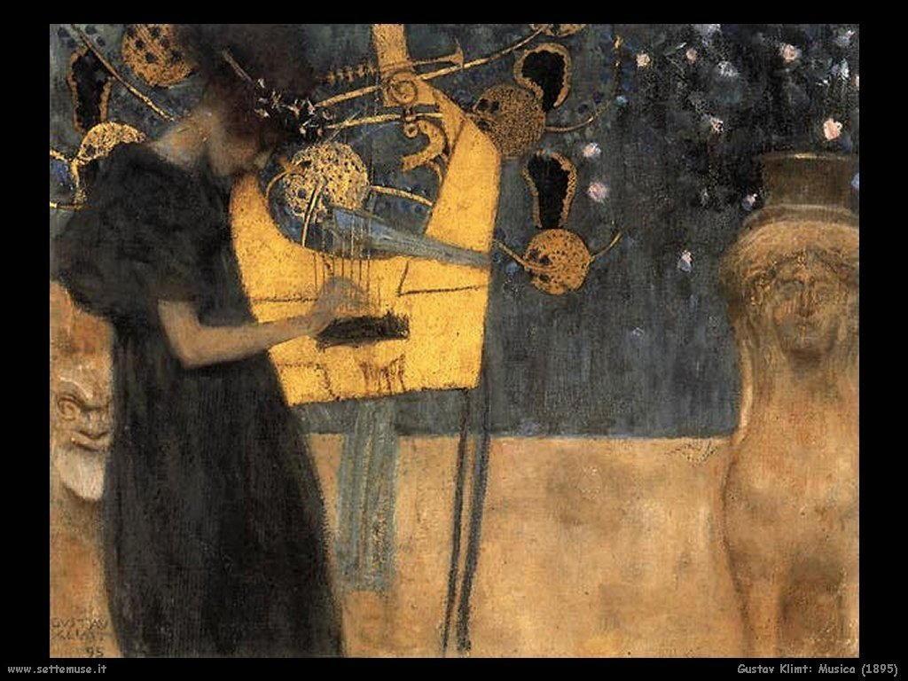 Klimt 1895_musica