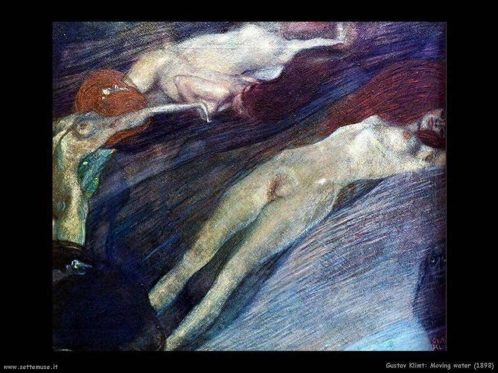 Klimt 1898_moving_water