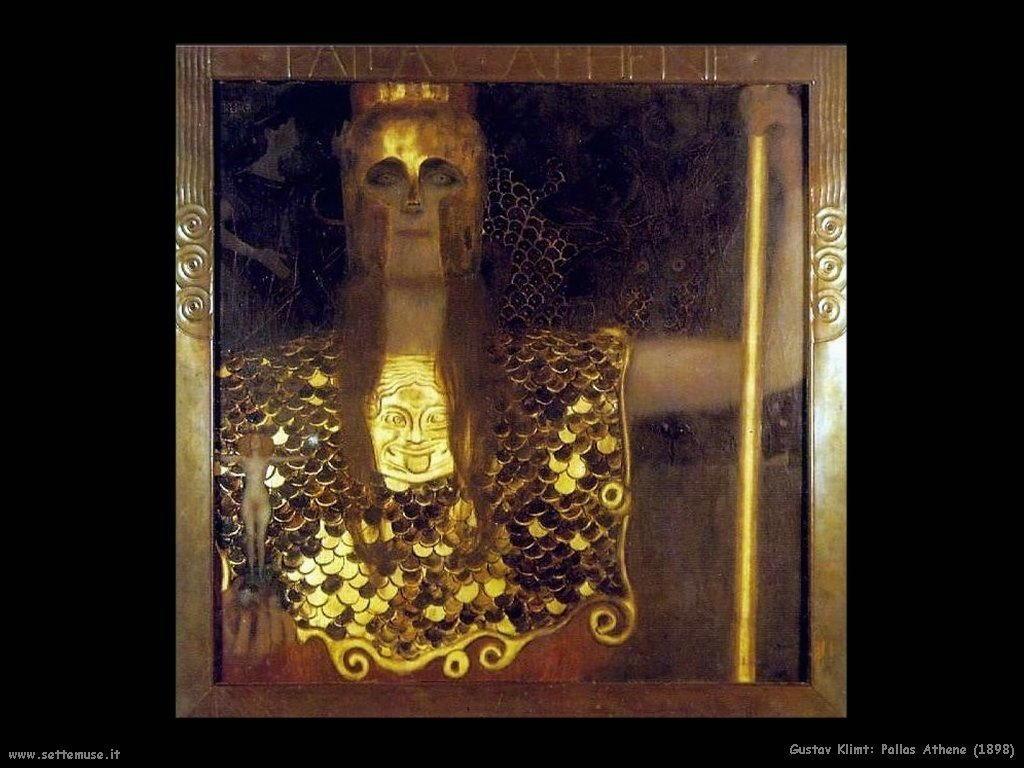 Klimt 1898_pallas_athene