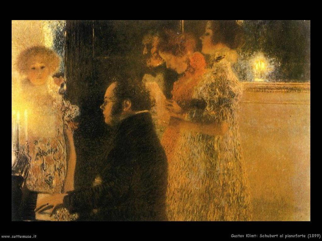 Klimt 1899_schubert_al_pianoforte